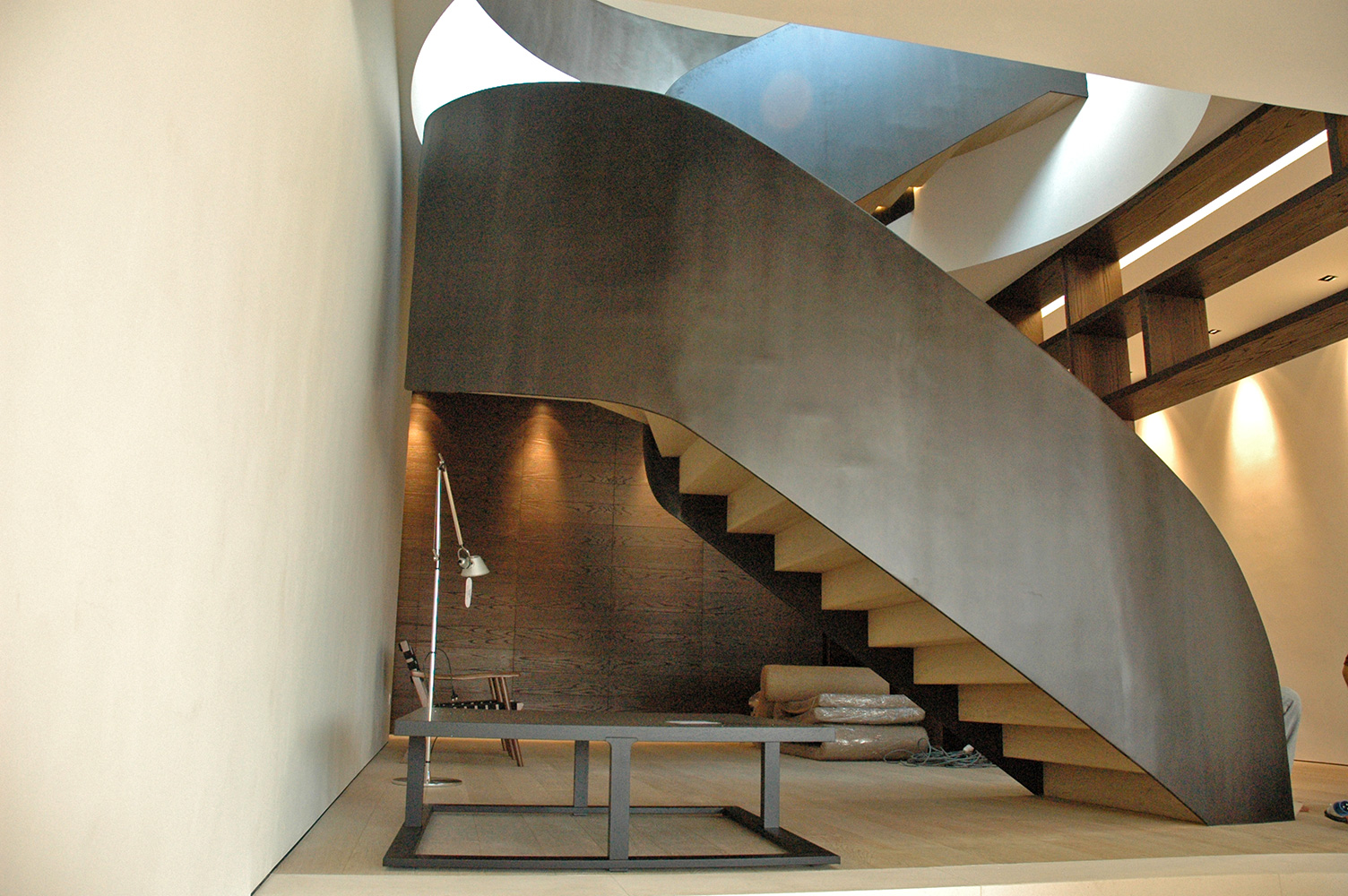 Bespoke Staircase at Beverly Penthouse